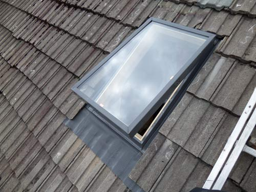 New Velux Window Roof Repair Glasgow East Kilbride