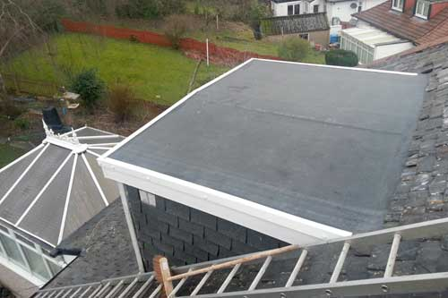 dormer epdm roof replacement after