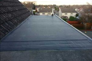 epdm roof replacement after