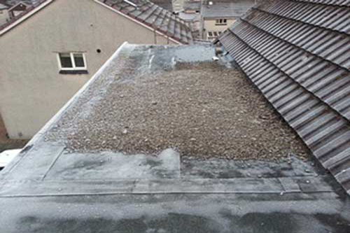 epdm roof replacement before